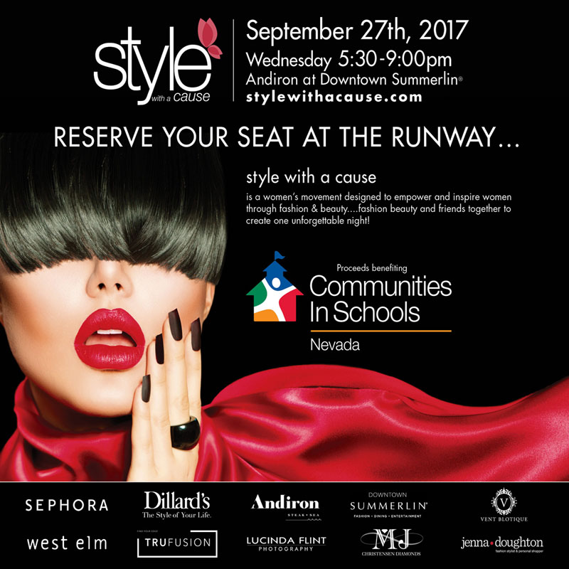 Purchase your 5th Anniversary style with a cause tickets and tables here