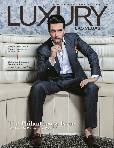 Luxury Las Vegas - October 2016:: The Philanthropy Issue style with a cause